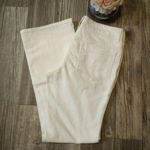 BOGO NWOT Cream Boot Cut Jeans